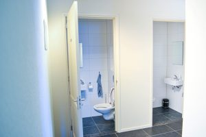 Toiletten Interieur